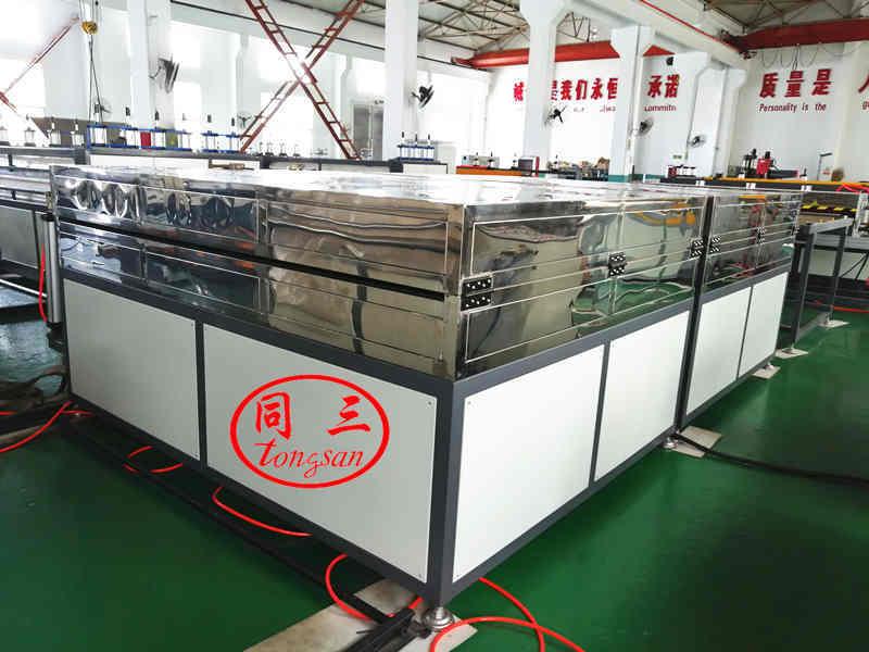 Heating oven  PP corrugated sheet machine