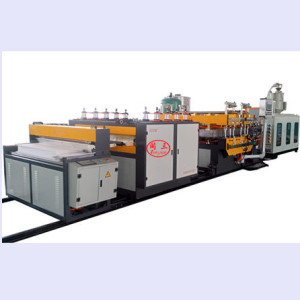 Recycling Plastic Anti Static Industrial Packaging Hollow Sheet Plate Board Making Extruder Machine