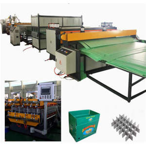 Qingdao Tongsan Corrosion Resistant New material Plastic ESD Turnover Box sheet Extruder Machine