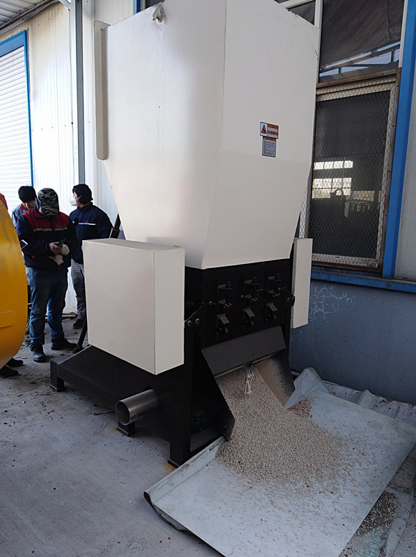 SWP400 Series High Effective Plastic Crusher for recycling large profiles