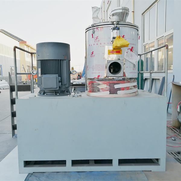 Tongsan SHL-500A cold mixer for PP corrugated sheet raw material