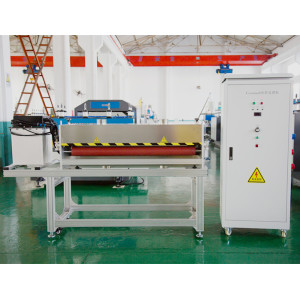 RCH-1350  Corona treater machine  for PP hollow corrugated sheet surface treatment