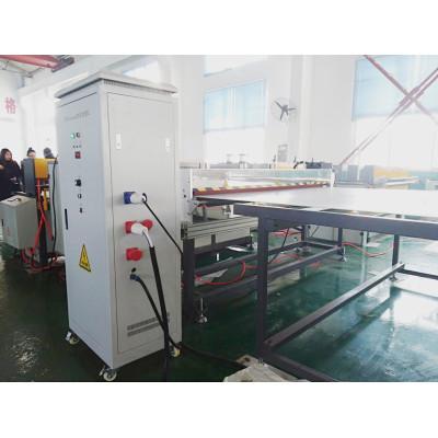 Machine de traitement de corona de RCH-1000 pour la préparation de surface ondulée creuse de feuille de pp