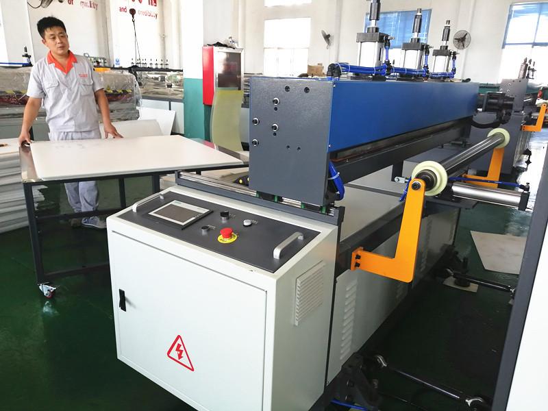 PP sheet cutting machine