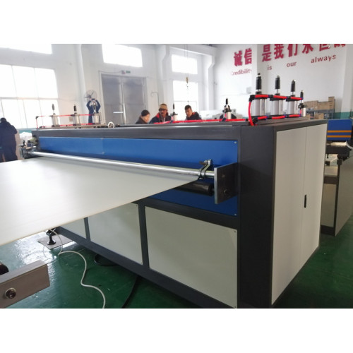 4mm PP corrugated sheet production line without use Oven running successful