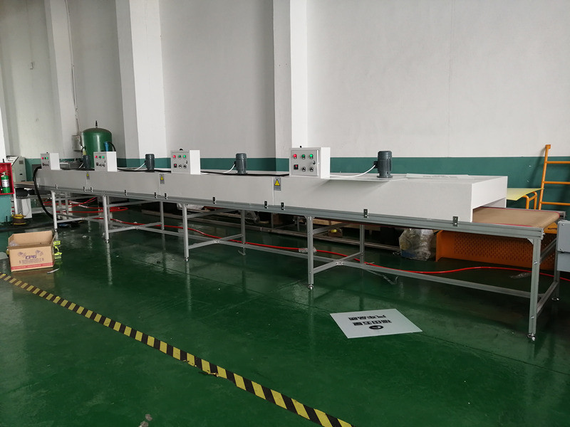 Semiautomatic silk screen printer r for PP package box sheet