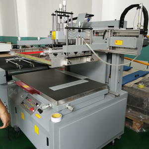 Semiautomatic Flat Silk screen Printing for PP package box panel