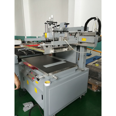 Semiautomatic  Silk screen printer for PP package box sheet