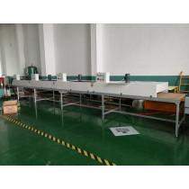 Semiautomatic  Silk screen printer for PP package box sheet