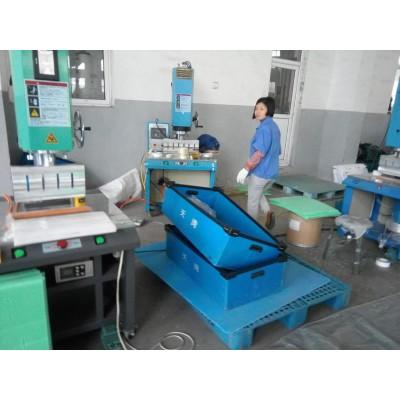 Ultrasonic welding machine for PP corrugated sheet box