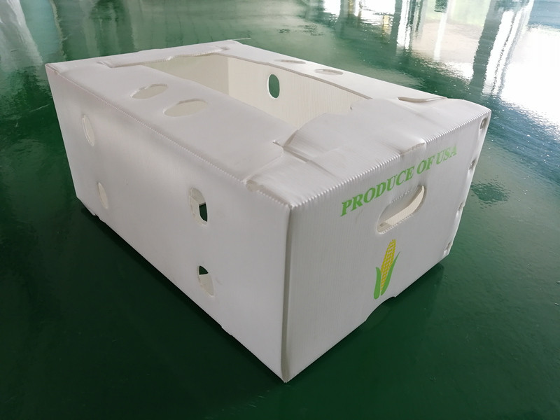 Ultrasonic welding machine for PP corrugated sheet box