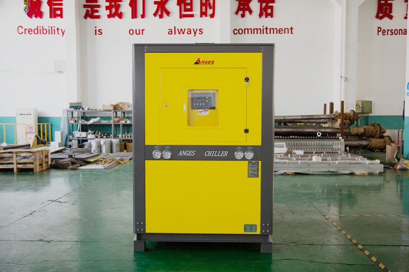 10 P Angus ail cooling water chiller for PP hollow corrugated sheet production line