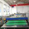2100mm co-extrusion PP hollow corrugated sheet production line testing before delivery to Dominica