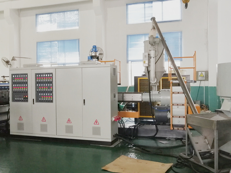 Electrical cabinet for PP sheet machine