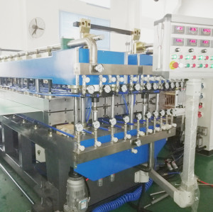2300 tytpe co-extrusion PP Polypropylene hollow grid board equipment manufacturer