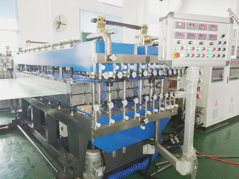Calibrator plate for PP corrugated sheet machine