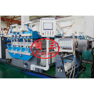 Waste PP PE Recycling Plastic Hollow Corrugated Sheet Making Machine Price In China