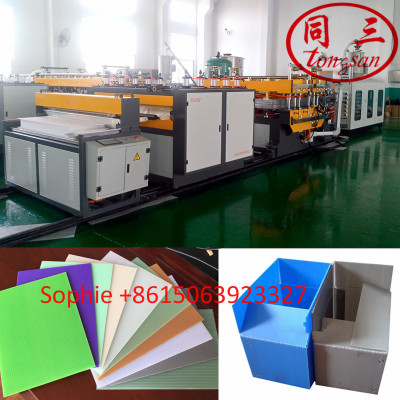 Plastic Hollow Sheet Semi-automatic  Welding Machine For Sale With CE