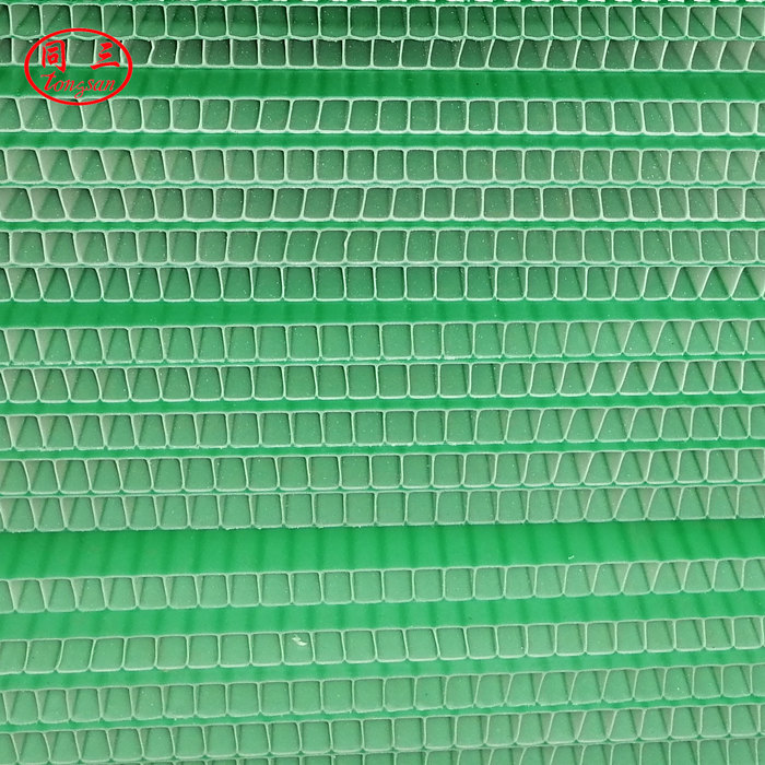 How much is a square of PP hollow  corrugated board