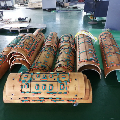High speed automatic die cutting machine for plastic hollow corrugated sheet