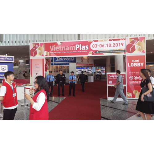 Vietnam Plastic Exhibition  Finished Successful (Tongsan PP corrugated sheet show on the exhibition)