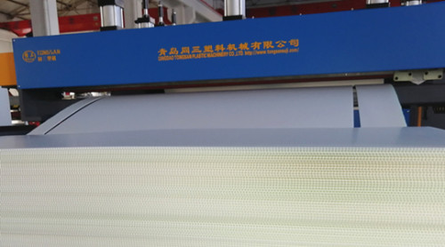 Hot sale plastic PP corrugated hollow sheet package boxes making machine production line price