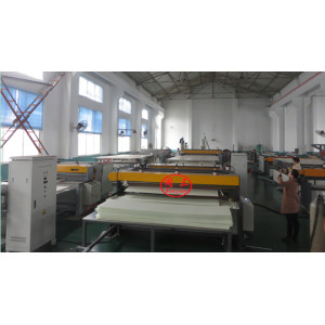 Tongsan 1220mm Co-extrusion plastic PE hollow  corrugated sheet making machine factory price