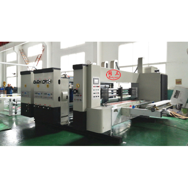 High speed PP hollow corrugated sheet  five color printer  for sale