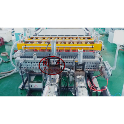 PP hollow corrugated sheet corrugated box manufacturing machine mold