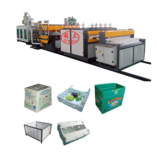 1700mm  SJ120 Plastic  PP  corrugated board extruder making machine for sale