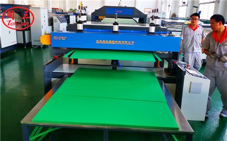 1250mm  PP PE PC plastic hollow corugated sheet extrusion machine line