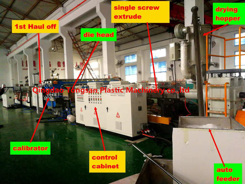 Tongsan PP hollow grid sheet making machines