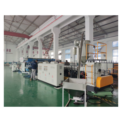 TS-1400 PP Hollow Sheet Extrusion Line