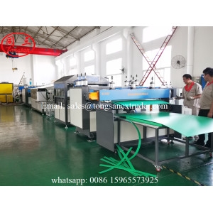 PP twin wall hollow sheet extrusion line