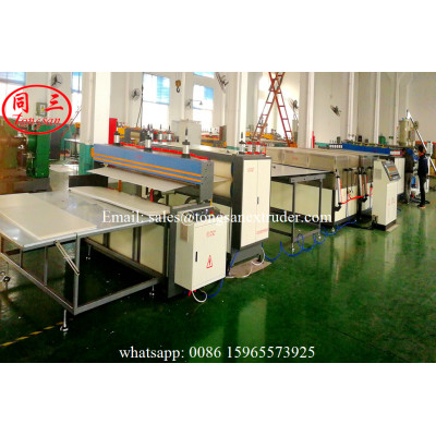 PP corrugated sheet extrusion line