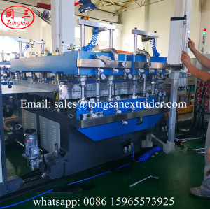 Hollow PP plastic sheet making machine for produce package for fruit/vegetable/food