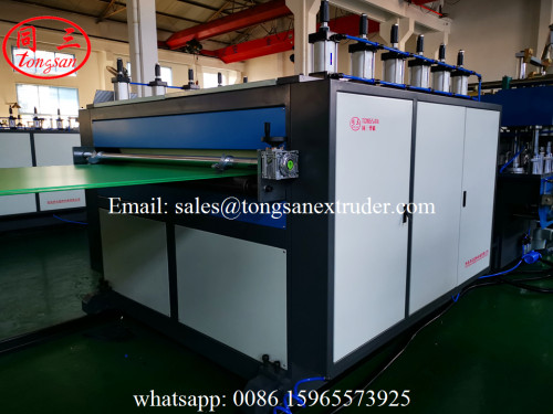 TS-2300 PP Corrugated Sheet Extrusion Line