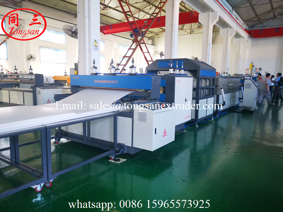 PP Plastic hollow sheet machine for making Advertising Decoration and Advertising Printing sheet
