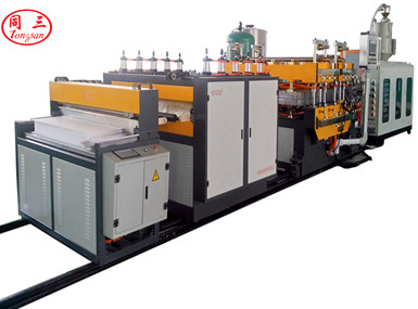 TS-1860 PP Hollow Sheet Co-Extrusion Line