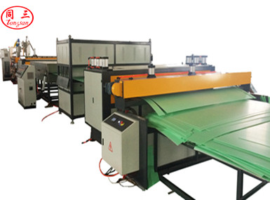PP Hollow Corrugated Sheet Co-Extrusion Line