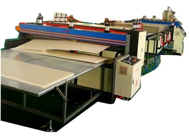 TS-3000 PP Hollow Corrugated Sheet Machine