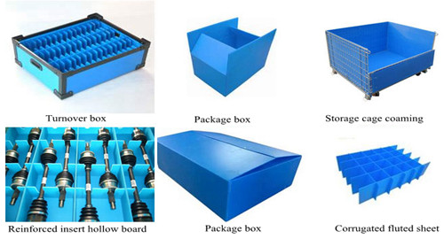 PP hollow sheet using for Industry packing box