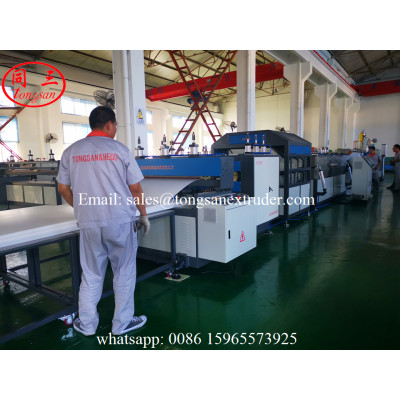 TS-1860 PP Hollow Plate Extrusion Line