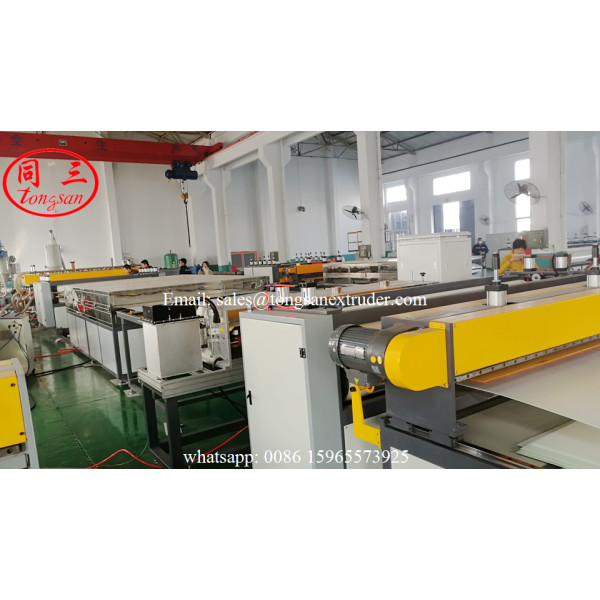 TS-2600 PP Corrugated Plate Extrusion Line