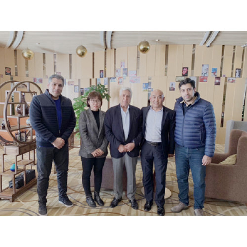 Iran customer order PP hollow corrugated sheet extrusion making machine