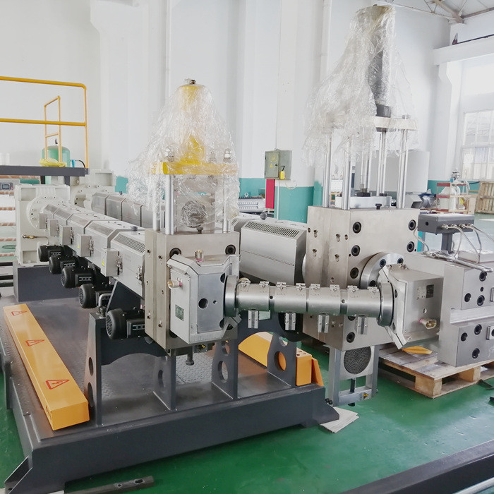 PP PE PC Plastic Hollow Corrugated Sheet Making Machine extruder