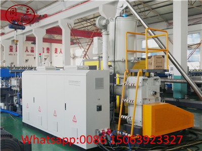Main extrusion and electrical cabinet
