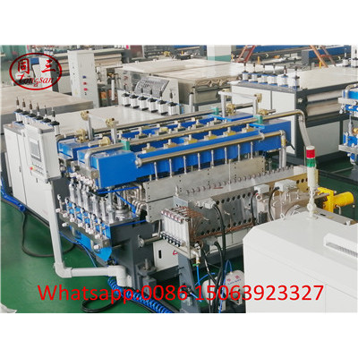 PP PE PC Plastic Hollow Corrugated Sheet Making Machine ---Fast Screen Changer