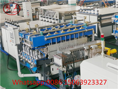 PP PE PC Plastic Hollow Corrugated Sheet Making Machine ---Single Screw Extruder