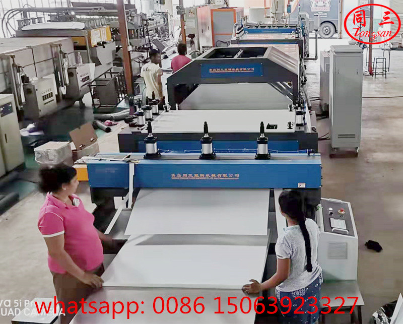 Hollow Corrugated Sheet Making Machine